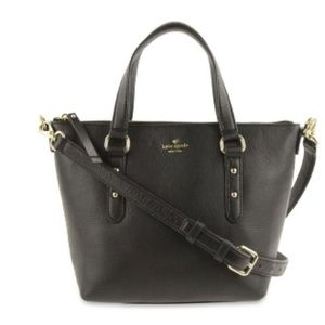 kate spade small penny leather tote bag